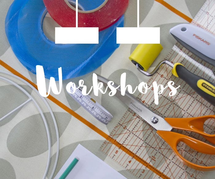 Drum Lampshade making workshops in South Yorkshire