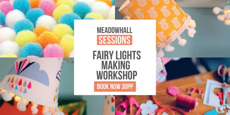 Festive Mini Lampshade Making Workshop at Meadowhall, Sheffield – Thurs 21st Nov 2019