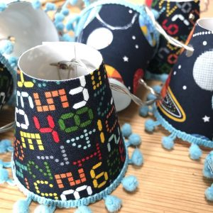 Space Countdown Mini Lampshades