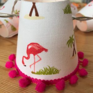 Flamingo Mini Lampshades