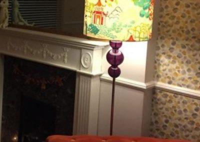 Bright Oriental Lampshade
