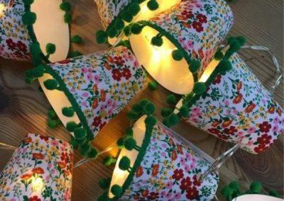 Floral Mini Lampshades