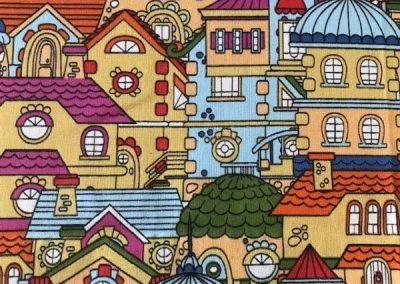 Fun Multi-coloured Houses