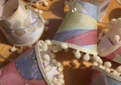 Sheer Mini Lampshades