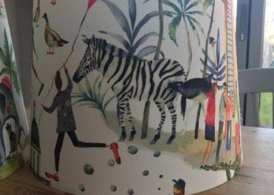 Zoo Fabric Drum Lampshade