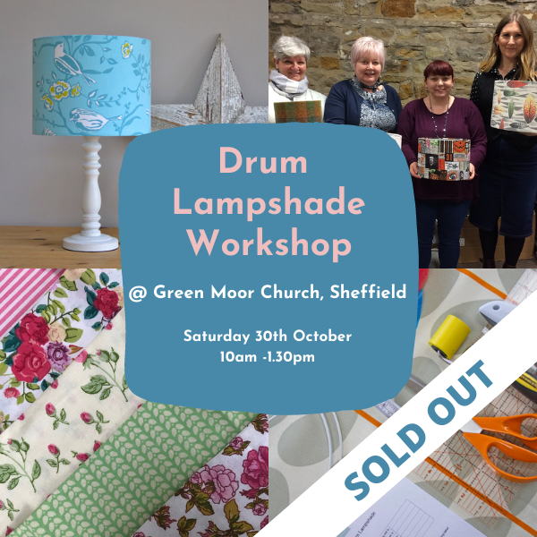 Drum Lampshade Making Workshop Green Moor Sold Out